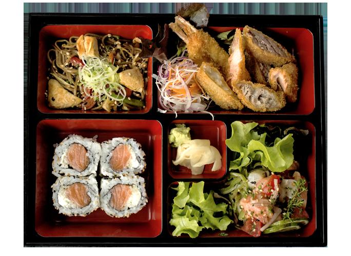 ristorante giapponese a napoli formula bento