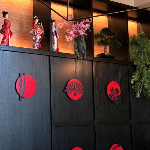 Il ristorante Osushi, location moderna e confortevole