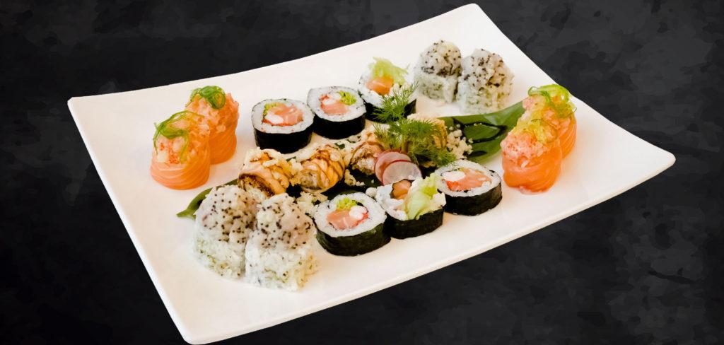 Cucina Fusion Giapponese del ristorante Osushi