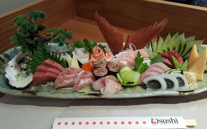 I benefici sulla salute del Sashimi giapponese