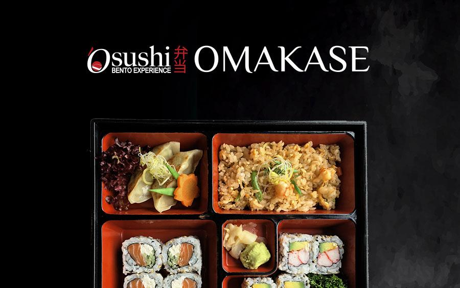 Il nuovo menu bento del ristorante Osushi di Napoli