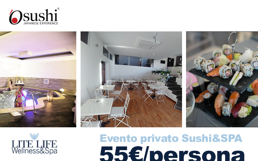 Evento privato Sushi e SPA