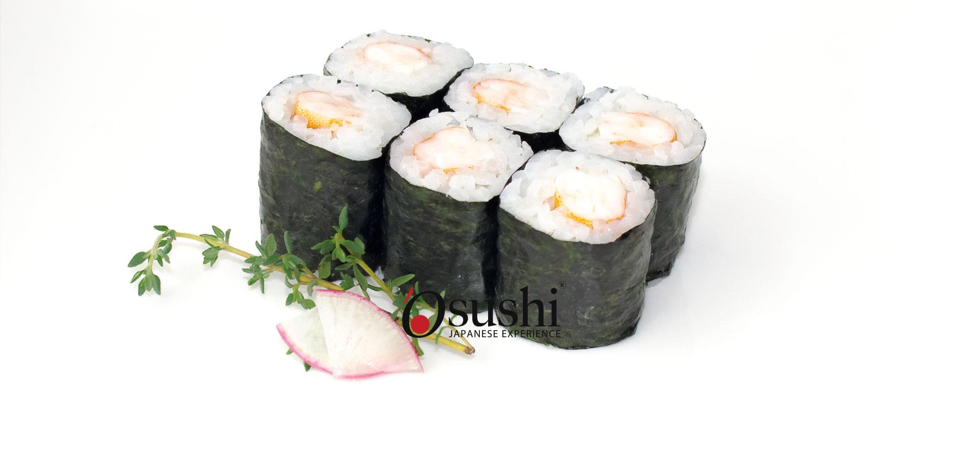 Hosomaki della tradizione giapponese