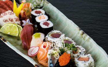 assortimenti specialità della cucina giapponese