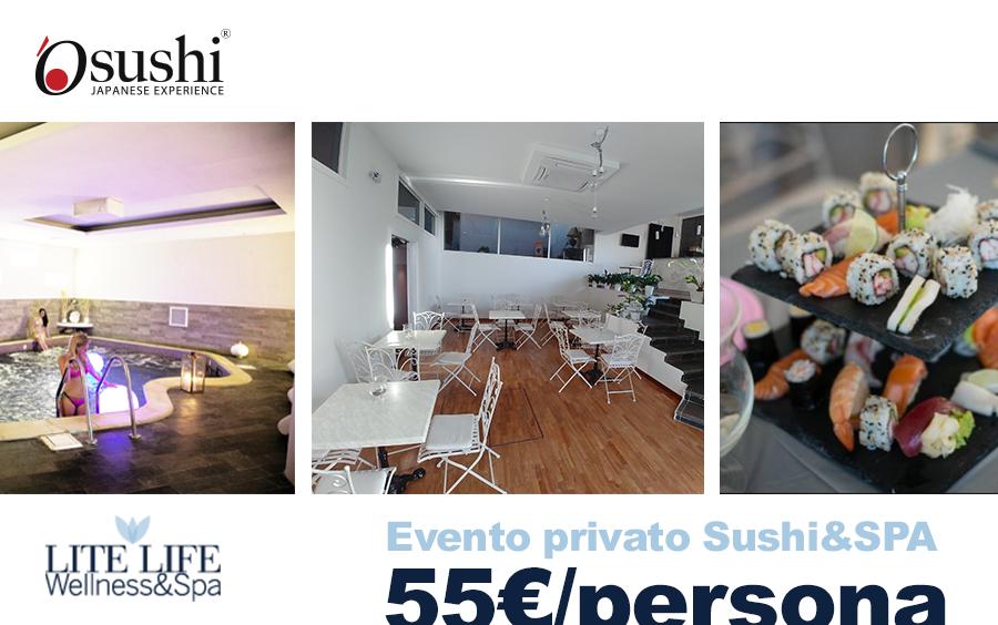 Evento privato Sushi e SPA